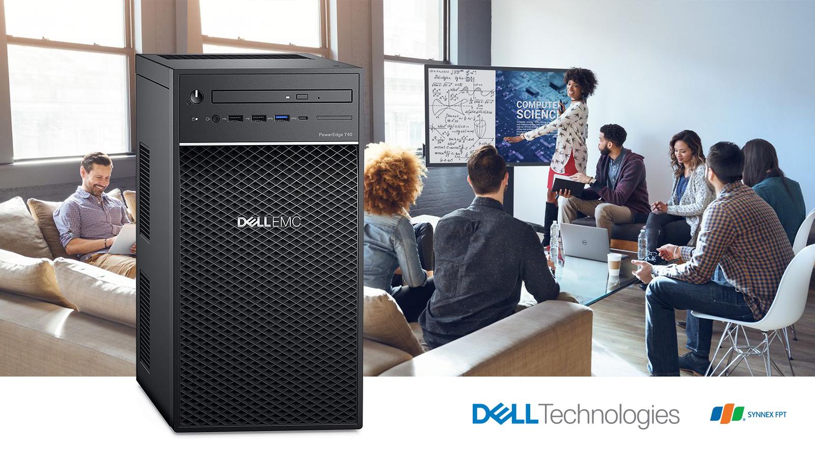 Dell EMC PowerEdge T40 Tower Server