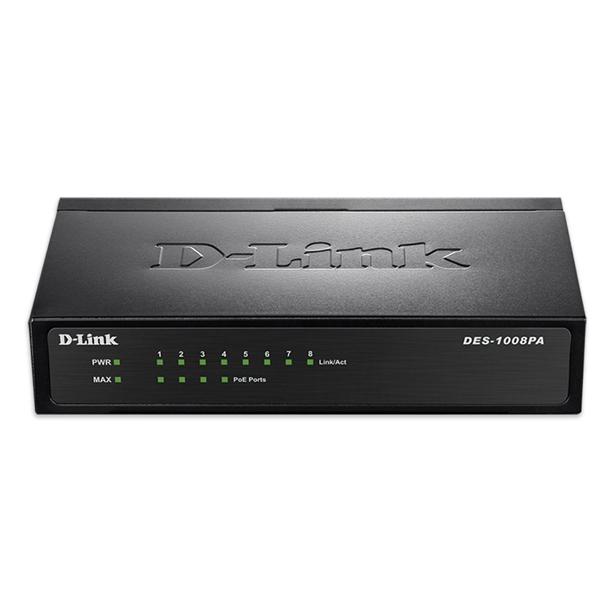 Switch D-link DES-1008PA POE