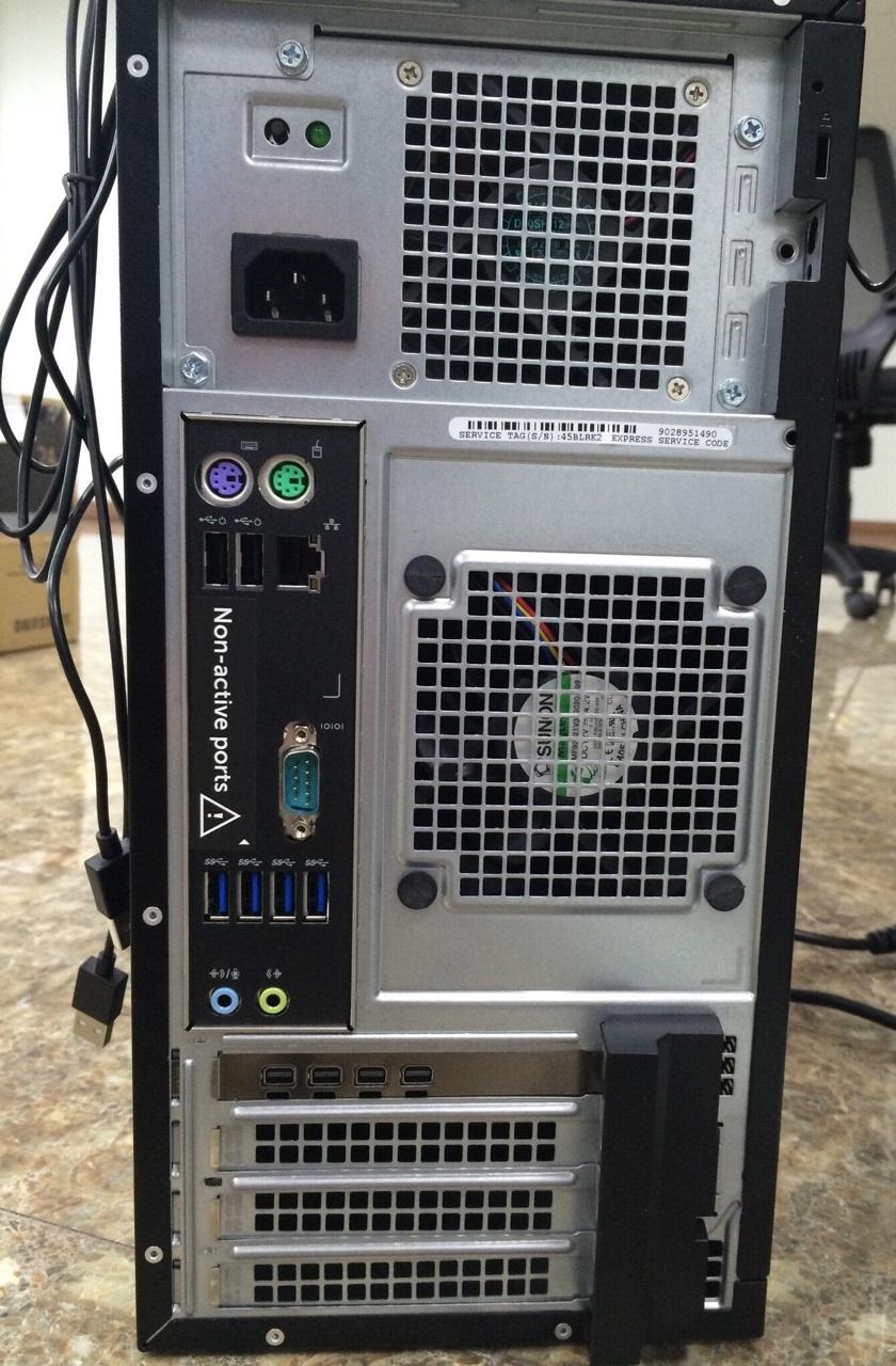 Máy trạm Workstation Dell Precision  3620 XCTO BASE-E3 1220v5