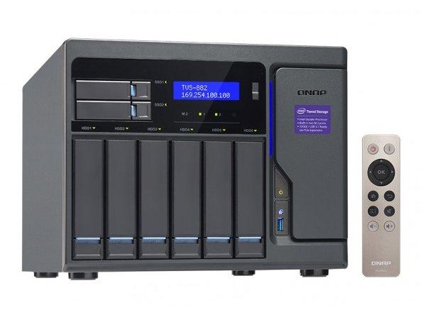 Thiết bị lưu trữ Qnap TVS-882-i5-16G