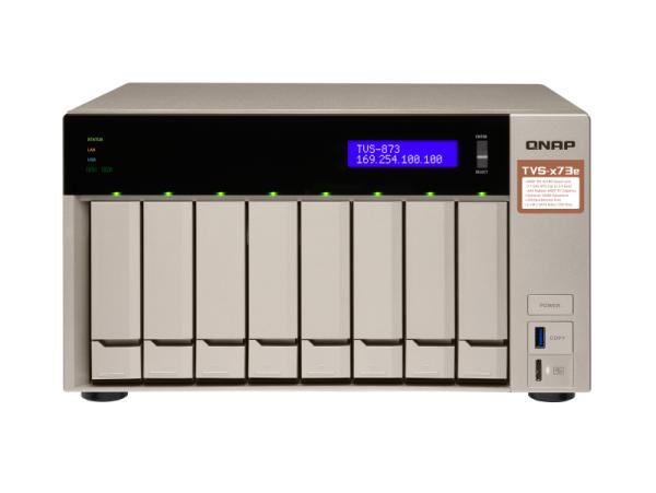 Thiết bị lưu trữ Qnap TVS-873e-8G