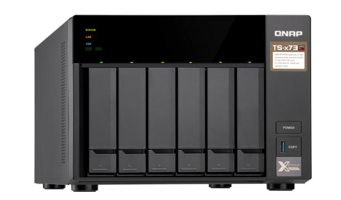 Thiết bị lưu trữ Qnap TS-673-8G